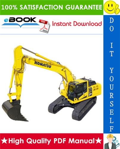 Thumbnail ☆☆ Best ☆☆ Komatsu PC290LC-6K, PC290NLC-6K Hydraulic Excavator Operation & Maintenance Manual (Serial Number: K30001 and up)