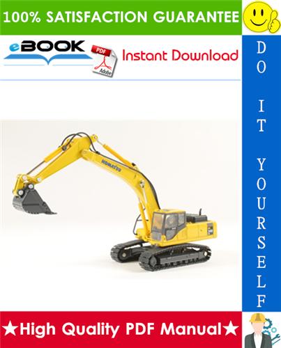 Thumbnail ☆☆ Best ☆☆ Komatsu PC340-6K, PC340LC-6K, PC340NLC-6K Hydraulic Excavator Operation & Maintenance Manual (Serial Number: K30001 and up)
