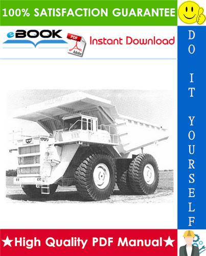 Thumbnail ☆☆ Best ☆☆ Komatsu 170D Dump Truck Operation & Maintenance Manual