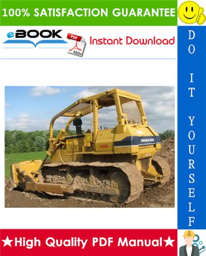 Thumbnail ☆☆ Best ☆☆ Komatsu D68E-1, D68P-1 Bulldozer Service Repair Manual
