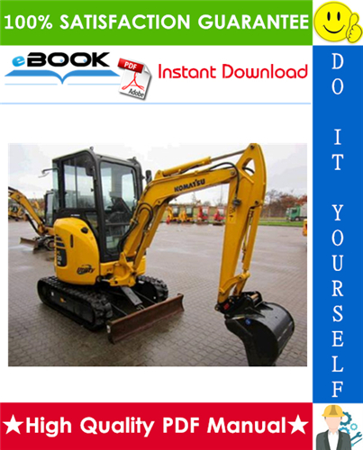 Thumbnail ☆☆ Best ☆☆ Komatsu PC20-3, PC30-3 Hydraulic Excavator Service Repair Manual