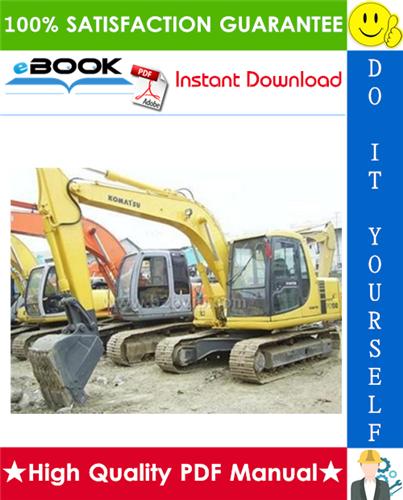 Thumbnail ☆☆ Best ☆☆ Komatsu PC100-2, PC100L-2, PC120-2 Hydraulic Excavator Service Repair Manual