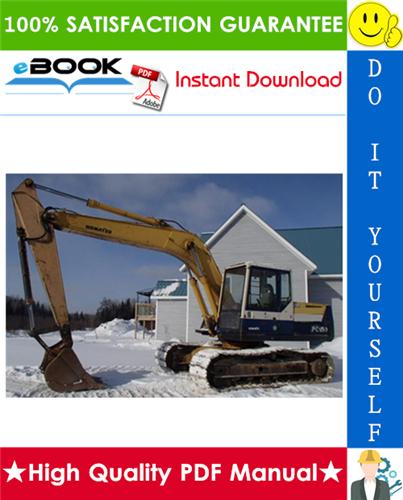 Thumbnail ☆☆ Best ☆☆ Komatsu PC150LC-5 Hydraulic Excavator Service Repair Manual