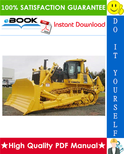 Thumbnail ☆☆ Best ☆☆ Komatsu D375A-6 Bulldozer Field Assembly Manual (Serial Number: 60001 and up)