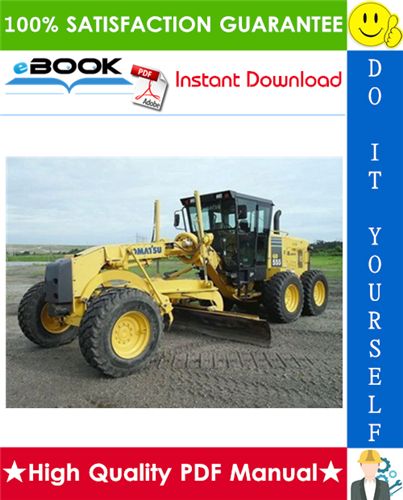 Thumbnail ☆☆ Best ☆☆ Komatsu GD555-3A, GD655-3A, GD675-3A Motor Grader Service Repair Manual (Serial Number: 10001 and up)