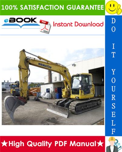 Thumbnail ☆☆ Best ☆☆ Komatsu PC138US-8, PC138USLC-8 Hydraulic Excavator Operation & Maintenance Manual (Serial Number: 25105 and up)