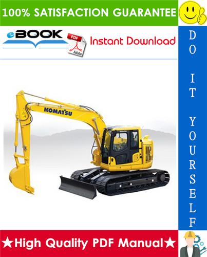 Thumbnail ☆☆ Best ☆☆ Komatsu PC138USLC-10 Hydraulic Excavator Operation & Maintenance Manual (Serial Number: 40001 and up)