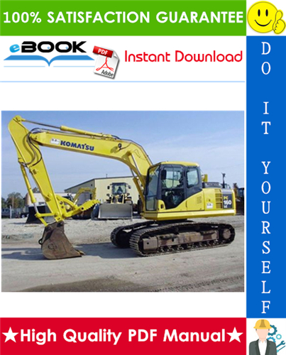 Thumbnail ☆☆ Best ☆☆ Komatsu PC160LC-8 Hydraulic Excavator Service Repair Manual (Serial Number: 25001 and up)