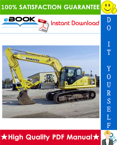 Thumbnail ☆☆ Best ☆☆ Komatsu PC160LC-8 Hydraulic Excavator Operation & Maintenance Manual (Serial Number: C20001 and up)