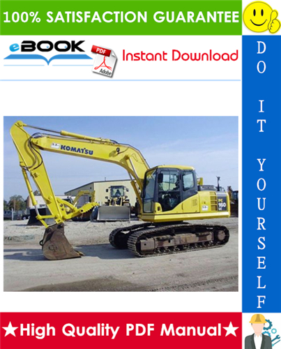 Thumbnail ☆☆ Best ☆☆ Komatsu PC160LC-8 Hydraulic Excavator Operation & Maintenance Manual (Serial Number: 25001 and up)