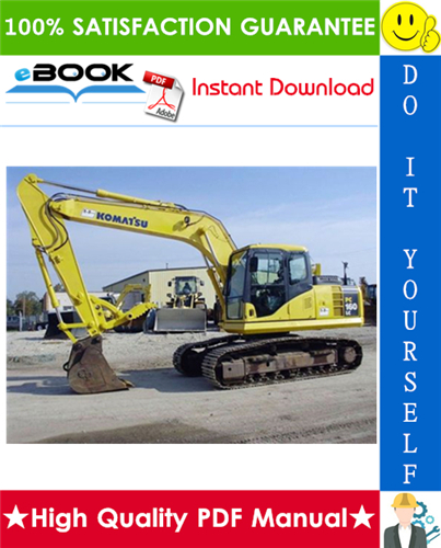 Thumbnail ☆☆ Best ☆☆ Komatsu PC160LC-8 Hydraulic Excavator Operation & Maintenance Manual (Serial Number: 25056 and up)