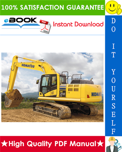 Thumbnail ☆☆ Best ☆☆ Komatsu PC210LC-10 Hydraulic Excavator Service Repair Manual (Serial Number: 450001 and up)