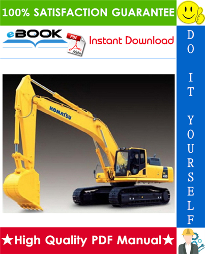 Thumbnail ☆☆ Best ☆☆ Komatsu PC450LC-8 Hydraulic Excavator Operation & Maintenance Manual (Serial Number: A10001 and UP)