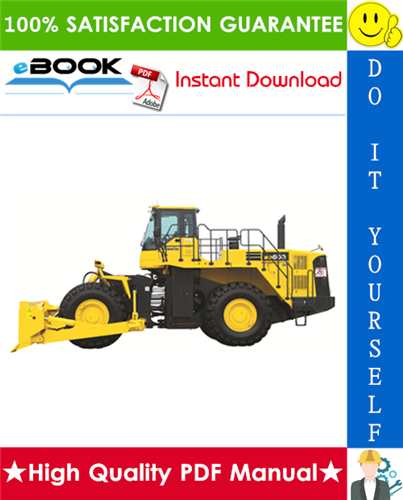 Thumbnail ☆☆ Best ☆☆ Komatsu WD600-6 Wheel Dozer Field Assembly Manual (Serial Number: 55001 and up)