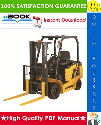 Thumbnail ☆☆ Best ☆☆ Komatsu FB 12M-1R, FB 15M-1R, FB 18M-1R, FB 15-1R, FB18-1R, FB 18H-1R, FB 20H-1R, FB 20GH-1R, FB 22H-1R, FB 25-1R, FB 28-1R, FB 30-1R Forklift Trucks Service Rep