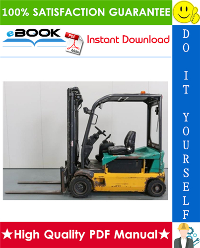 Thumbnail ☆☆ Best ☆☆ Komatsu Series 4032 (FB13M-2R, FB15-2R, FB15M-2R, FB16-2R, FB16M-2R, FB18-2R, FB18M-2R, FB20-2R, FB20M-2R) Forklift Trucks Service Repair Manual
