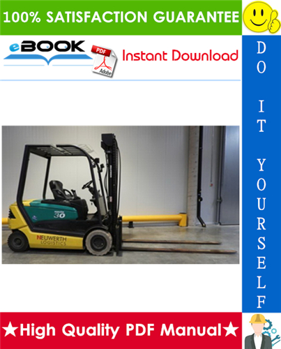 Thumbnail ☆☆ Best ☆☆ Komatsu Series 4024 (FB22H-3R, FB25H-3R, FB25HG-3R, FB30H-3R) Forklift Trucks Service Repair Manual