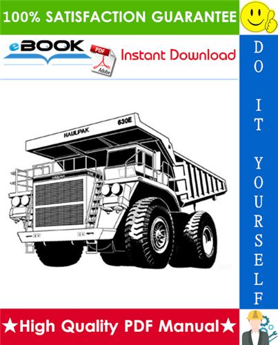 Thumbnail ☆☆ Best ☆☆ Komatsu 630E Dump Truck Service Repair Manual + Operation & Maintenance Manual