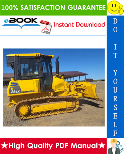 Thumbnail ☆☆ Best ☆☆ Komatsu D31EX-22, D31PX-22, D37EX-22, D37PX-22 Bulldozer Service Repair Manual + Operation & Maintenance Manual (Serial Number: 60001 and up)