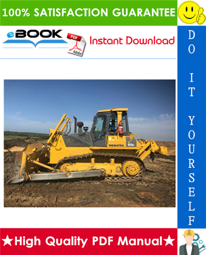 Thumbnail ☆☆ Best ☆☆ Komatsu D65E-12, D65P-12, D65EX-12, D65PX-12 Bulldozer Service Repair Manual + Operation & Maintenance Manual (Serial Number: 60001 and up)