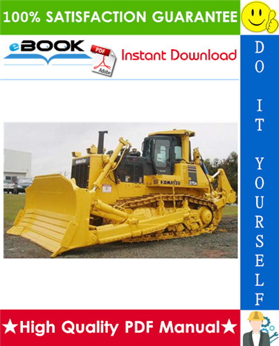 Thumbnail ☆☆ Best ☆☆ Komatsu D375A-5 Bulldozer Service Repair Manual + Field Assembly Manual + Operation & Maintenance Manual (Serial Number: 18001 and up, 18200 and up, 18052 and up