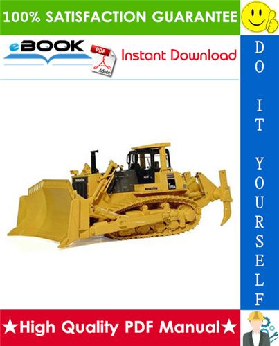 Thumbnail ☆☆ Best ☆☆ Komatsu D375A-5E0 Bulldozer Service Repair Manual + Field Assembly Manual + Operation & Maintenance Manual (Serial Number: 50001 and up)