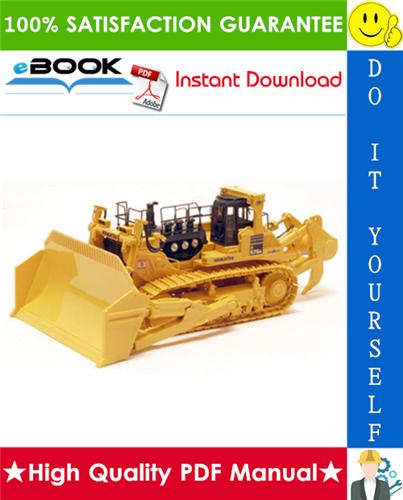 Thumbnail ☆☆ Best ☆☆ Komatsu D575A-3 Super Dozer Service Repair Manual + Field Assembly Manual + Operation & Maintenance Manual (Serial Number: 10101 and up)