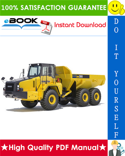Thumbnail ☆☆ Best ☆☆ Komatsu HM300-2 Articulated Dump Truck Service Repair Manual + Field Assembly Manual + Operation & Maintenance Manual (Serial Number: 2001 and up)