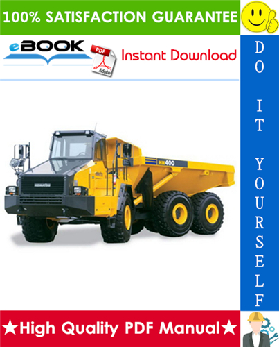 Thumbnail ☆☆ Best ☆☆ Komatsu HM400-1L Articulated Truck Service Repair Manual + Operation & Maintenance Manual (Serial Number: A10001 and UP)