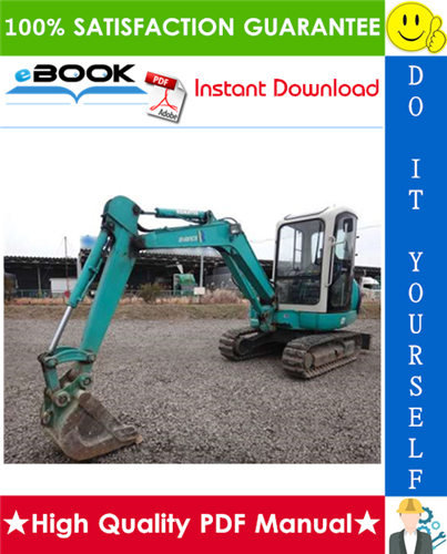 Thumbnail ☆☆ Best ☆☆ Komatsu PC30R-8, PC35R-8, PC40R-8, PC45R-8 Hydraulic Excavator Service Repair Manual + Operation & Maintenance Manual