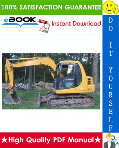 Thumbnail ☆☆ Best ☆☆ Komatsu PC60-7, PC60-7B Hydraulic Excavator Service Repair Manual + Operation & Maintenance Manual