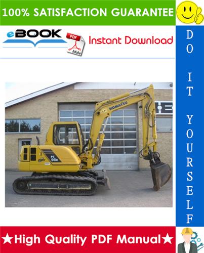 Thumbnail ☆☆ Best ☆☆ Komatsu PC95R-2 Hydraulic Excavator Service Repair Manual + Operation & Maintenance Manual