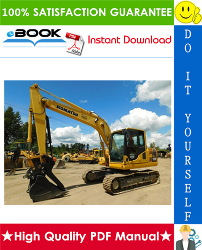 Thumbnail ☆☆ Best ☆☆ Komatsu PC120-6 EXCEL Hydraulic Excavator Service Repair Manual + Operation & Maintenance Manual (Serial Number: 57499 and up)