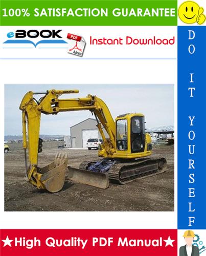 Thumbnail ☆☆ Best ☆☆ Komatsu PC128UU-1, PC128US-1 Hydraulic Excavator Service Repair Manual + Operation & Maintenance Manual