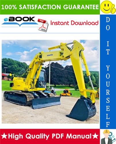 Thumbnail ☆☆ Best ☆☆ Komatsu PC128UU-2 Hydraulic Excavator Service Repair Manual + Operation & Maintenance Manual (Serial Number: 5001 and up)