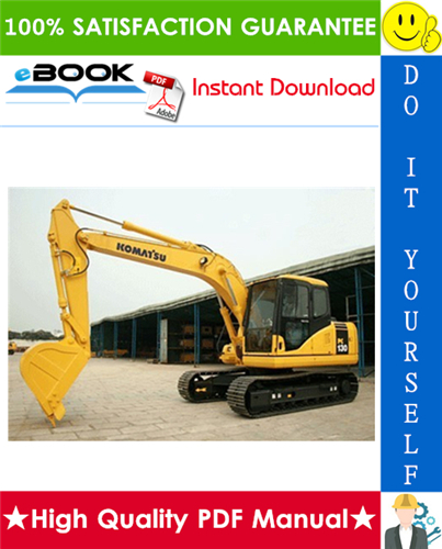 Thumbnail ☆☆ Best ☆☆ Komatsu PC130-7 Hydraulic Excavator Service Repair Manual + Operation & Maintenance Manual (Serial Number: DBM0001 and up)