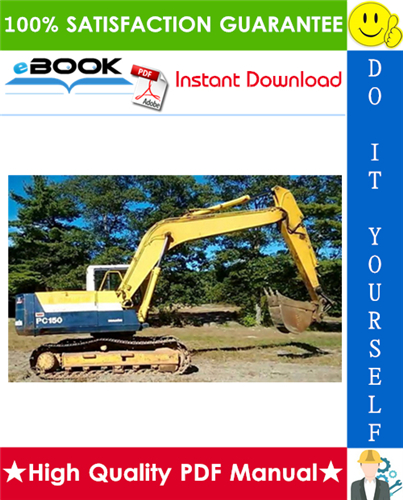 Thumbnail ☆☆ Best ☆☆ Komatsu PC150-6K, PC150LC-6K Hydraulic Excavator Service Repair Manual + Operation & Maintenance Manual (Serial Number: K30001 and up, K32001 and up, K34001 and