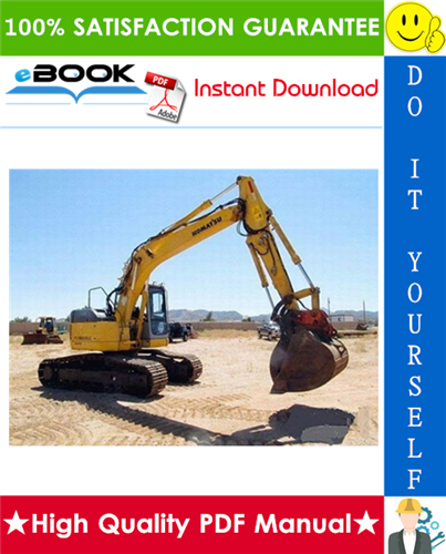 Thumbnail ☆☆ Best ☆☆ Komatsu PC158US-2 Hydraulic Excavator Service Repair Manual + Operation & Maintenance Manual (Serial Number: 10001 and up)