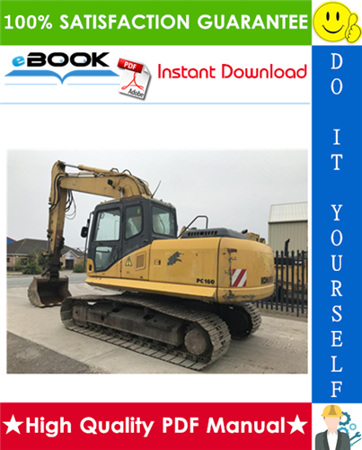 Thumbnail ☆☆ Best ☆☆ Komatsu PC160-6K, PC180LC-6K, PC180NLC-6K Hydraulic Excavator Service Repair Manual + Operation & Maintenance Manual (Serial Number: K32001 and up, K34001 and up
