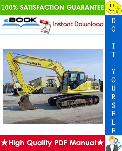 Thumbnail ☆☆ Best ☆☆ Komatsu PC160LC-7E0 Hydraulic Excavator Service Repair Manual + Operation & Maintenance Manual (Serial Number: 20001 and up)