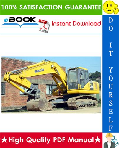 Thumbnail ☆☆ Best ☆☆ Komatsu PC200-7, PC200LC-7, PC200-7B, PC200LC-7B, PC220-7, PC220LC-7 Hydraulic Excavator Service Repair Manual + Operation & Maintenance Manual