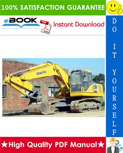 Thumbnail ☆☆ Best ☆☆ Komatsu PC200-8, PC200LC-8, PC220-8, PC220LC-8 Hydraulic Excavator Service Repair Manual + Operation & Maintenance Manual