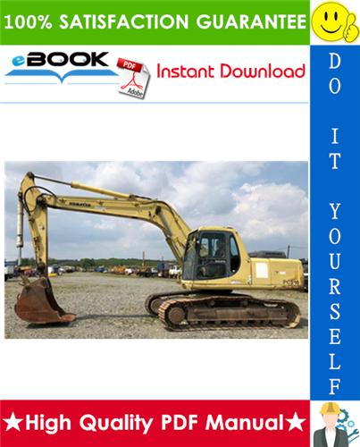 Thumbnail ☆☆ Best ☆☆ Komatsu PC210-6K, PC210LC-6K, PC240LC-6K, PC240NLC-6K Hydraulic Excavator Service Repair Manual + Operation & Maintenance Manual (Serial Number: K32001 and up)