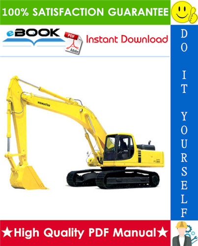 Thumbnail ☆☆ Best ☆☆ Komatsu PC300-6, PC300LC-6, PC350-6, PC350LC-6 Hydraulic Excavator Service Repair Manual + Operation & Maintenance Manual #2