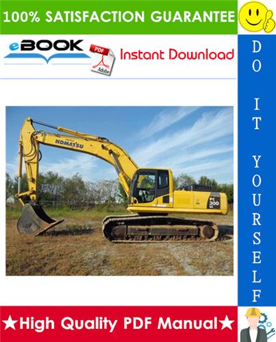 Thumbnail ☆☆ Best ☆☆ Komatsu PC300LC-5 With KDC 614TA Engine & PC400LC-5 With Cummins LTA-10C Engine Excavators Service Repair Manual + Operation & Maintenance Manual