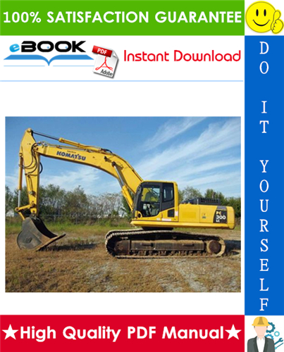 Thumbnail ☆☆ Best ☆☆ Komatsu PC300LC-7L, PC300HD-7L Hydraulic Excavator Service Repair Manual + Operation & Maintenance Manual (Serial Number: A85001 and up)