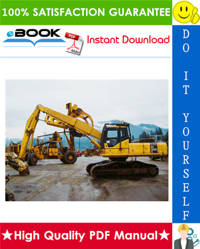 Thumbnail ☆☆ Best ☆☆ Komatsu PC300LL-7L Hydraulic Excavator Service Repair Manual + Operation & Maintenance Manual (Serial Number: A85001 and UP)