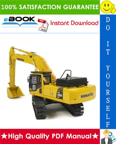 Thumbnail ☆☆ Best ☆☆ Komatsu PC400-6, PC400LC-6, PC450-6, PC450LC-6 Hydraulic Excavator Service Repair Manual + Operation & Maintenance Manual