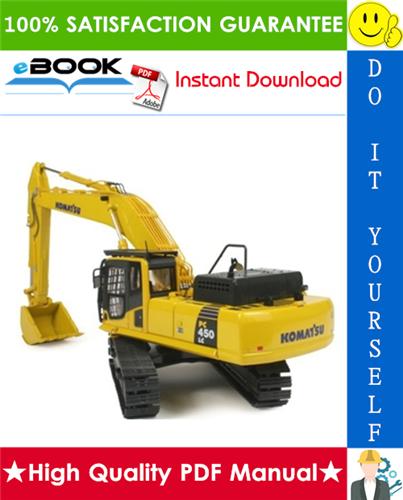 Thumbnail ☆☆ Best ☆☆ Komatsu PC400-7, PC400LC-7, PC450-7, PC450LC-7 Hydraulic Excavator Service Repair Manual + Operation & Maintenance Manual
