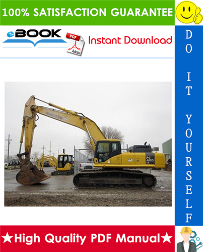 Thumbnail ☆☆ Best ☆☆ Komatsu PC400-7E0, PC400LC-7E0, PC450-7E0, PC450LC-7E0 Hydraulic Excavator Service Repair Manual + Operation & Maintenance Manual